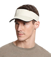 Isotoner® Lake of the Isles™ Men's Stone & Black Washed Two-Tone Visor