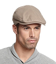 Isotoner® Lake of the Isles™ Men's Khaki & Navy Cotton Twill Ivy