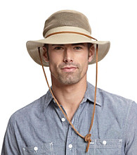 Isotoner® Lake of the Isles™ Men's Khaki Vented Outback