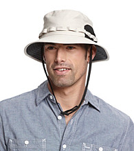 Isotoner® Lake of the Isles™ Men's Stone UV Outback Cap