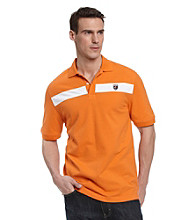 John Bartlett Consensus Men's Pieced Chest Pique Polo