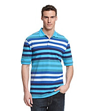 John Bartlett Consensus Men's Party Stripe Polo