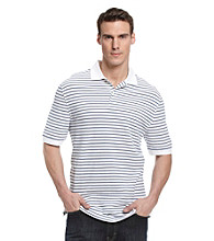 John Bartlett Consensus Men's Pencil Stripe Polo
