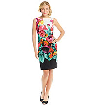 Adrianna Papell® Floral Print Sheath Dress