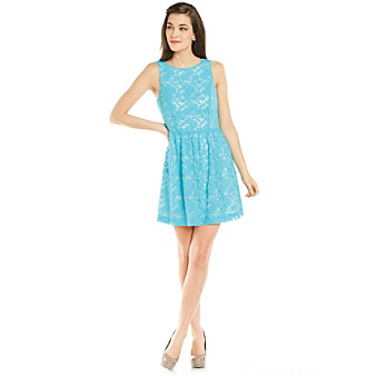 Kensie® Combo Lace Dress