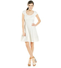 Vince Camuto® Fit and Flare Dress