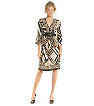 R & M Richards® Print Knit Dress