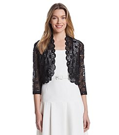 R & M Richards® Lace Shrug