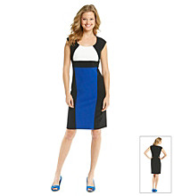 Ronni Nicole® Crepe Colorblock Dress