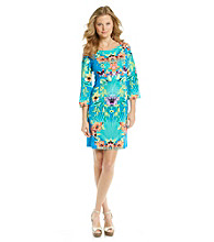 Ronni Nicole® Floral Print Knit Dress