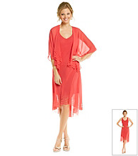 S.L. Fashions Chiffon Jacket Dress