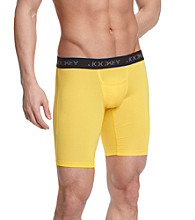 Jockey® Men's Bird Yellow Microfiber Sport Performance Midway Brief