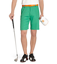 Izod® Men's Emerald Flat-Front Basic Cargo Short