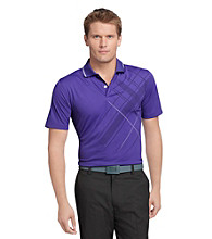 Izod® Men's Short Sleeve Engineered Print Polo