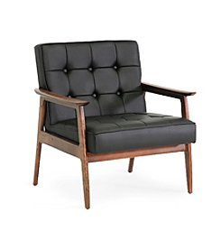 Baxton Studios Stratham Mid-Century Modern Club Chair
