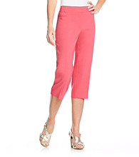 Briggs New York® Stetch Waistband Crop Pant