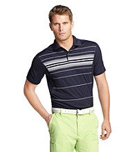 Izod® Men's Evening Blue Striped Oxford Polo
