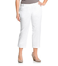 Jones New York Sport® Plus Size Twill Crop Pant