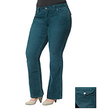 Silver Jeans Co. Plus Size Suki Curvy Fit Bootcut Colored Jeans