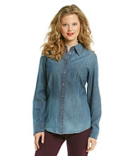 Nine West Vintage America Collection® Petites' Denim Shirt