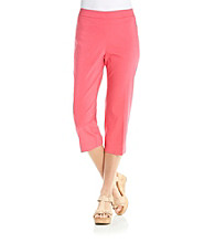 Briggs New York® Petites' Pull-On Capri