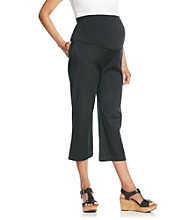 Three Seasons Maternity™ Solid Fine Twill Capris