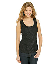 Relativity® Career Lace Front Tank Top