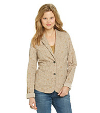 Ruff Hewn Washed Canvas Blazer