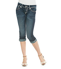 Studio 5® Cropped Roll Cuff Jeans