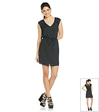 Be Bop Juniors' Sleeveless Tie Waist Dress