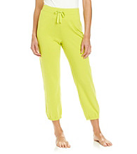 Relativity® French Terry Crop Sweatpants - Luau Lime
