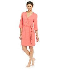 Zoe & Bella @ BT Knit Robe - Bold Coral