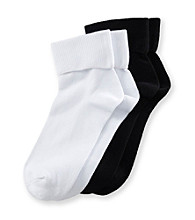 Relativity® 2-pk. Bamboo Socks