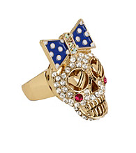 Betsey Johnson® Crystal Stretch Ring