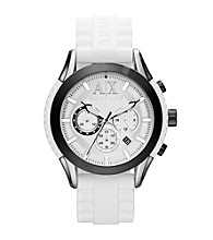A|X Armani Exchange Men's Active Black and White Watch