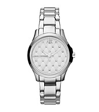 A|X Armani Exchange Women's Smart Stainless Steel Quilted Watch