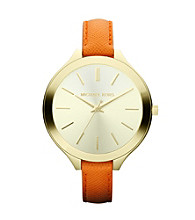 Michael Kors® Orange Slim Runway Watch