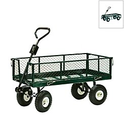 600 lb Capacity Drop Side Nursery Cart