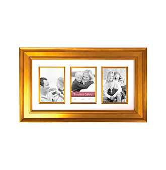 "Timeless Frames® 5""x7"" Arial Gold Gallery Collage Frame"
