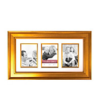 Timeless Frames® Arial Gold 10x20 Gallery Collage Frame