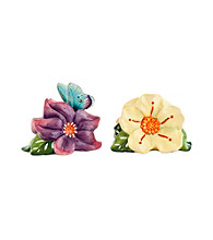 Fitz and Floyd® Courtyard Flower Salt and Pepper Set