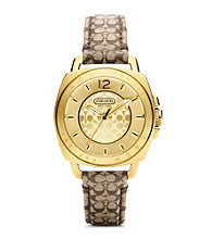 COACH BOYFRIEND MINI STRAP WATCH