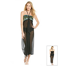 Raviya Chiffon Long Tube Dress Coverup