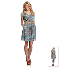 Jessica Simpson Floral Printed Dress