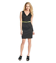 Vince Camuto® Peplum Sheath Dress