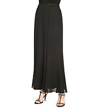 Alex Evenings® Long Fit And Flare Skirt