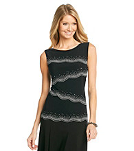 MSK® Asymmetrical Tiered Top