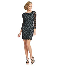 Adrianna Papell® Beaded Lace Shift Dress