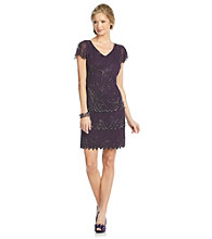 J Kara® Short Beaded Dress