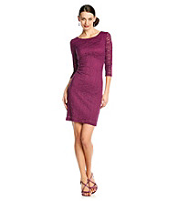 Marina Floral Lace Sheath